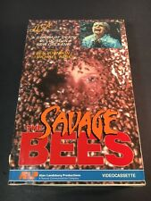 The Savage Bees (1976) Beta Cassette Mega Rare Betamax Not VHS Horror Cult