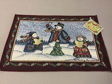 NWOT USA Made 1 Tapestry Placemat Vicky Howard Make A Joyful Noise #553Z