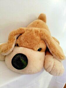 "FAO Schwarz Large Patrick The Pup Plush Dog Stuffed Animal Toy 22"" Tan Brown Big"