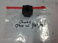 "Jacobs J910W  Rubber Flex Collet.   1/16 - 1/8"" USED TOOLING"