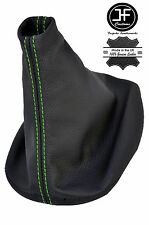 GREEN STITCH REAL LEATHER MANUAL GEAR BOOT COVER FOR PORSCHE 944 924 1982-1989