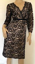 Nylon V-Neck Party Midi Dresses for Women