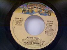 "MICHAEL SEMBELLO ""MANIAC / INSTRUMENTAL"" 45 MINT"