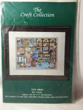 The Craft Collection Cross Stitch Kit, Toy shop 14#