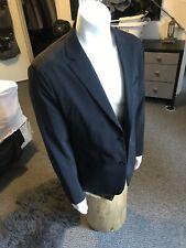 Theory Men Black Newson Technical Slim Fit Stretch Wool Blazer Slim Fit 44R $595