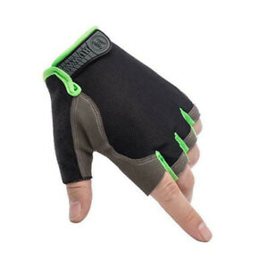 Cycling Half Finger Gloves Anti-slip Mountarin Bike Riding BMX MTB XC Road Sport