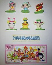 WINX CLUB LOVE & PET COMPLETE SET WITH ALL PAPERS KINDER SURPRISE 2010