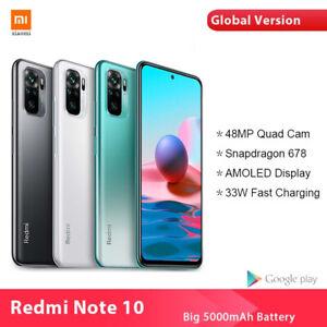 Xiaomi Redmi Note 10 4GB 64GB 48MP Quad Camera 4G Smartphone Global Version