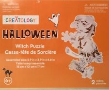 """Creatology Wood Puzzle """"Halloween Witch Puzzle"""" Sealed"""