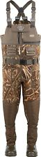 DRAKE WATERFOWL MST EQWADER 2.0 WADING SYSTEM NEOPRENE CAMO CHEST WADER-Max-5 9