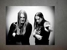 Dark Throne Promo Photo 8x10 Bathory Mayhem Carpathian Forest Darkthrone