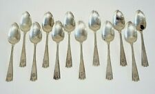 12Pc US Sterling Silver Demi Tasse Spoon Lot Etruscan Pat by Gorham (BrB) #7