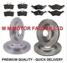 Ford Focus Mk1 1.6 1.8 2.0 TDDi TDCi 16v Front & Rear Brake Discs With Pads