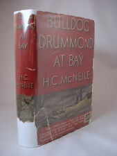 Bulldog Drummond at Bay by HC McNEILE - 1st Edition, 1935. Hardcover Mystery.