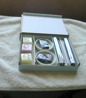 Sandalwood and Violet Incense, Assorted/Mixed, Multi-Color in a Wooden Box