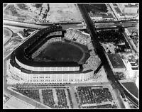 Yankee Stadium Photo 11X14 - 1928 Yankees Babe Ruth Lou Gehrig Lazzeri Bronx