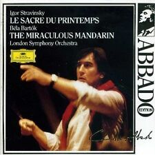 Stravinsky le parue tu printemps Bartók the Miraculous mandarin Claudio Abbado