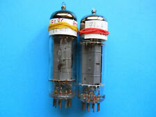 2 x MATCHED EL86 BELVU & RTC NOS BY MULLARD
