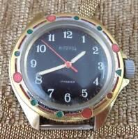 Russian vintage wrist watch VOSTOK KOMANDIRSKIE COMMANDER 17 jewels Made in USSR