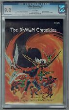 X-Men Chronicles #1 CGC 9.2 NM- Wp 1 of only 3 Graded 2nd Highest! FantaCo 1981