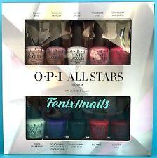 New! OPI ALL STARS 10-pc Mini Polish Gift Set~Bubble Tickle Alpine Apple..HR G12