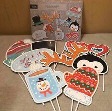 Kit De Navidad Cabina de Fotos Accesorios Gracioso Navidad Fiesta SELFIE Stocking Relleno Niños Nuevo
