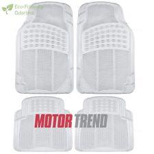 BDK 4pc Clear All Season Heavy Duty Odorless BPA-free SUV Auto Rubber Floor Mats