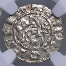 Netherland Friesland Dokkum denar 1038-1057 Bruno III NGC MS 61 VERY HIGH GRADE!