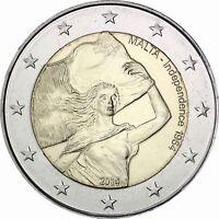 Malta 2 Euro 2014 Unabhängigkeit seit 1964 Gedenkmünze prägefrisch