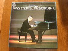 RUDOLF SERKIN CARNEGIE HALL Haydn, Beethoven, Schubert - 2 LP BOX SET CBS 79216