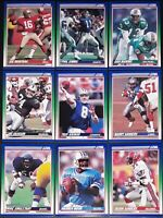 1990 Score NFL Football Trading Cards (266-650) - Pick Your Card