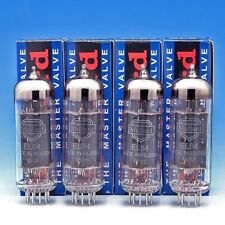 Mullard EL84 Cryo Matched Quad (4) Power Tubes