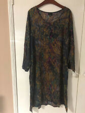 STUNNING LADIES GINGER NZ LONG SLEEVE DRESS EUC SIZE 14