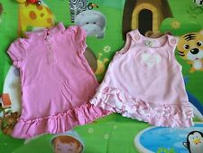 💜Baby Girls💜2 Cute Dresses 💜 Sz 3-6 Months💜