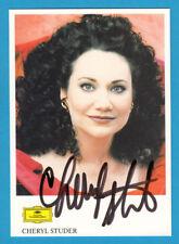 Cheryl Studer - Oper / Klassik - Deutsche Grammophon - selten !! -  #  1170