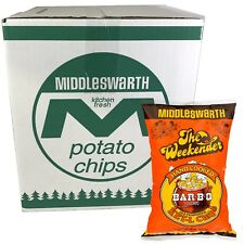 Middleswarth Hand Cooked Old Fashioned KET-L Bar-B-Q Flavored Potato Chips - ...