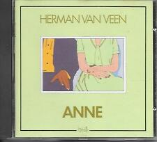 HERMAN VAN VEEN - Anne CD Album 12TR West Germany 1986 (HARLEKIJN)
