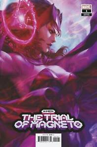Trial of Magneto #1 (2021) Marvel Artgerm Variant Scarlett Witch Releasing 08/18