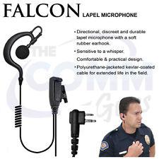 Tactical Ear Gadgets Earpiece Headset Mic for Motorola CP200 BPR40 CLS1410 DTR