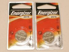 2 pk Blister card ENERGIZER CR2016 cr 2016 3v Lithium Battery EXP. 2023