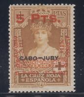 ESPAÑA (1927) NUEVO CON FIJASELLOS MLH - EDIFIL 400 (5 pts +4 pts) LOTE 1