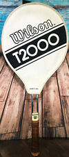 Wilson T2000 Vintage USA Made Steel Tennis Racquet/Racket (Jimmy Connors Fav.)