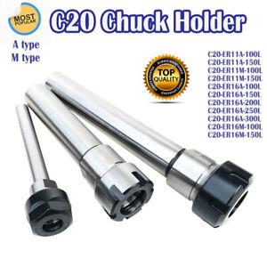 C20 Spannzangenfutter Für Motorwellen ER11-ER16 100L-200L Werkzeughalter Fräsen