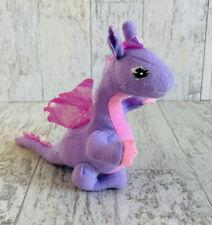 Barbie Rapunzel Penelope Purple & Pink Dragon Plush Stuffed Animal Small Mini