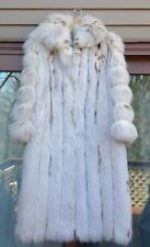 Women's Real Fox Fur Coat By Tarnopol's Fully Lined SPECTACULAR!