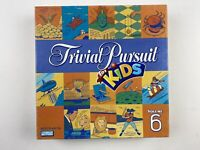 TRIVIAL PURSUIT FOR KIDS VOLUME 6 BOARD GAME FAMILY TRIVIA COMPLETE