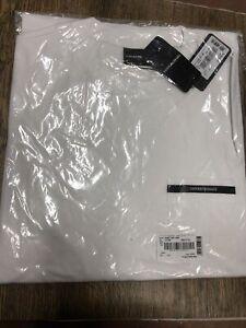 Emporio Armani Chest pocket T-shirt Size L White Brand New (F)