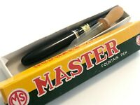 Japanese  MASTER unused with box ebonite urushi  ink shot off  from Japan