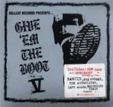 HELLCAT RECORDS PRESENTS Give Em The Boot V (5) CD NEW