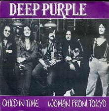 7inch DEEP PURPLE Child in time / woman from tokyo HOLLAND HR MUSIC RARE 1989